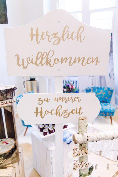 HerzlichWillkommenHolzschildFuerDieHochzeitsfeier-Holzmitliebe-Holzdekoration